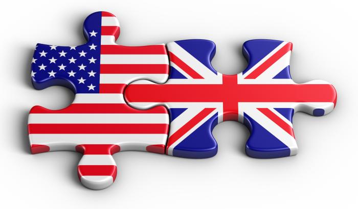U.S., U.K. puzzle pieces