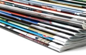 catalogues pile