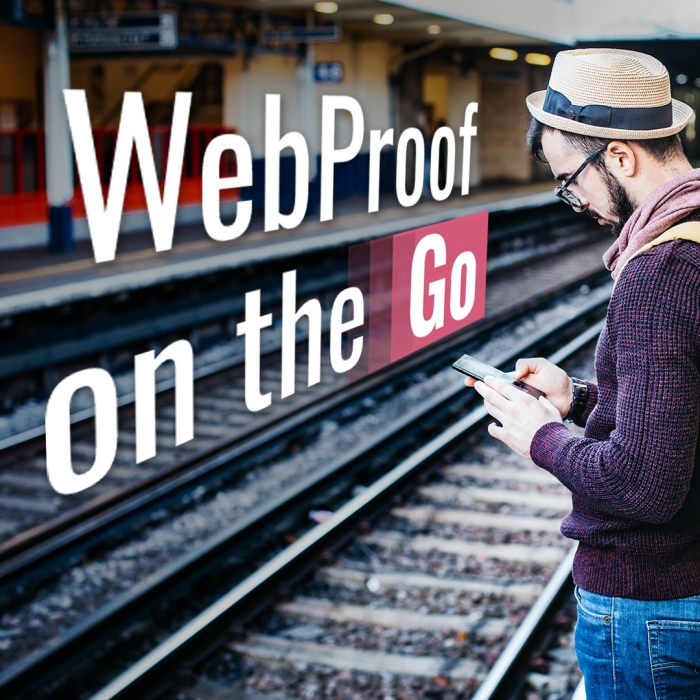 Online Proofing for iPhone and iPad